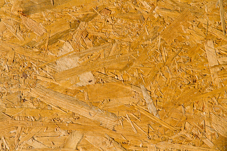 OSB board texture pattern close-up. Background image. Stock Photo