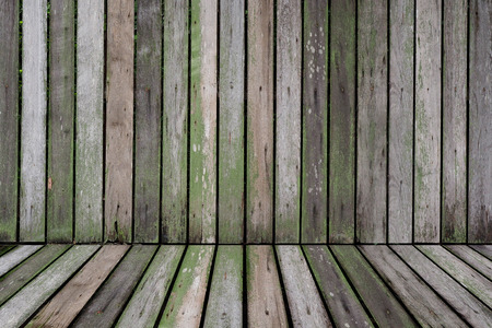 wood texture: Old battens texture for background and place products Stock Photo