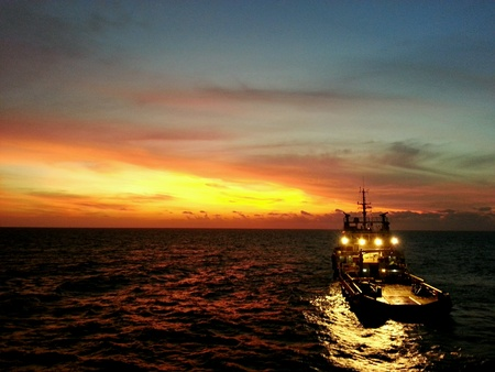 hydrocarbon: Supply vessel