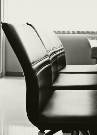 board room: Conference table and chairs in meeting room