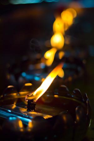 oillamp: Oil lamp arranged in patterns Beautiful