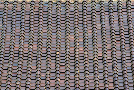 tejas: Azulejos de azotea Foto de archivo