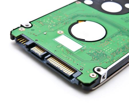 sata: Sata hard disk(HDD) connector, close up image.
