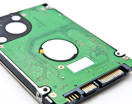 solid state drive: Sata hard disk(HDD) connector, close up image.