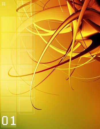 Computer generiert Hintergrund. Ideal für ein Cover, Präsentation oder einen Bericht. Standard-Bild - 282469