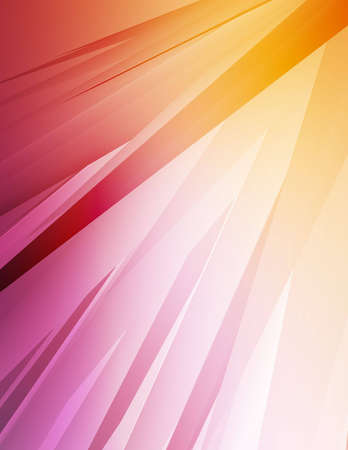Computer generated background with colorful beams.