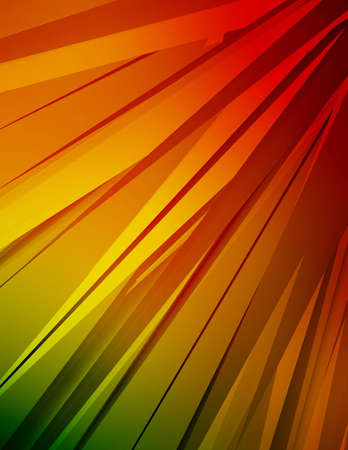 Computer generated background with colorful crystals.