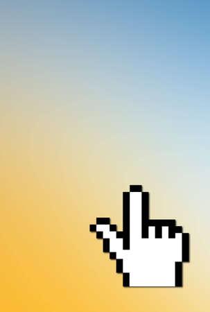 clic: Computer cursor hand