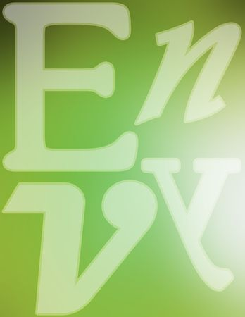 envy: Collage of mixed letters with the word envy spelled out.