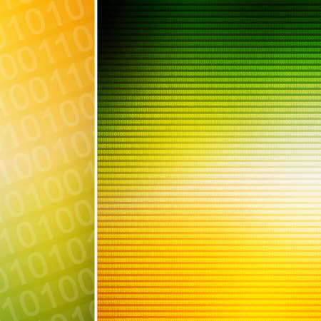 raytrace: High tech abstract background Stock Photo