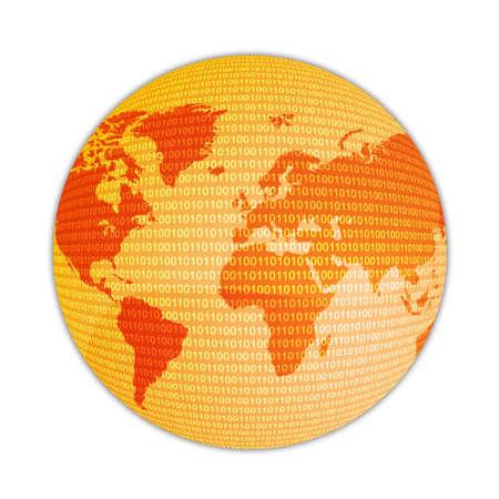 transmit: High Tech World Stock Photo