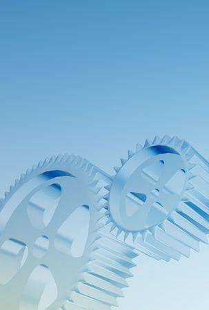 High-Tech-Industrie-Hintergrund Standard-Bild - 290192
