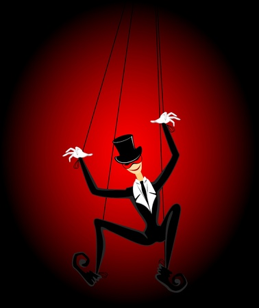 marionette: Cartoon marionette