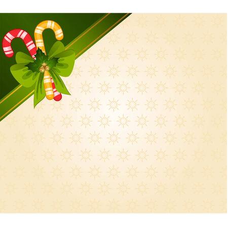 caramelos navidad: Ca�a de dulces de Navidad decorado arco