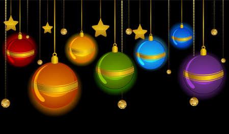 bolls: Christmas decoration with bolls Stock Photo