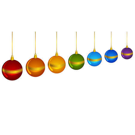 boll: Christmas decoration with bolls Illustration