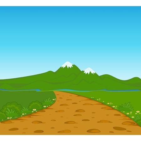 Der Sommer Landschaft