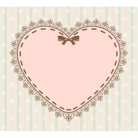 doilies: Hermoso fondo con adornos de encaje