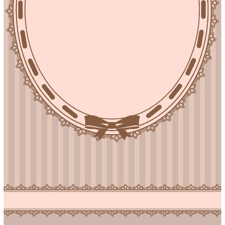 Beautiful background with lace ornaments Vector
