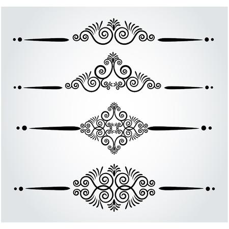 Luxury seamless gothic background. Vector