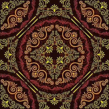 antique nails: Vintage tapestry background.