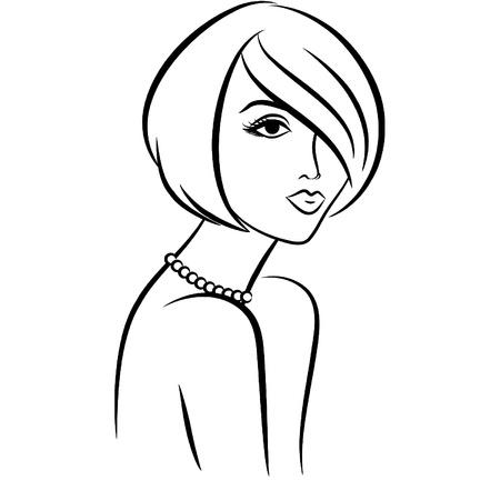 classic woman: Chica de moda vintage