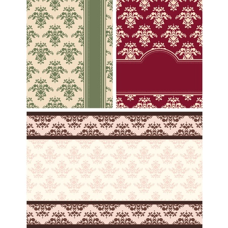 Vintage tapestry background. Stock Vector - 10715187