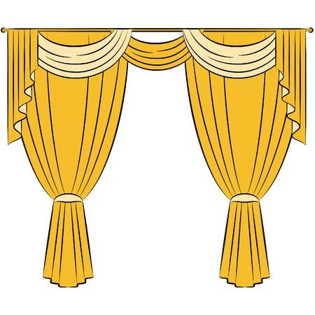 La cortina de la vendimia.