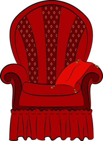 arm-chair for vintage interior Stock Photo - 11106825