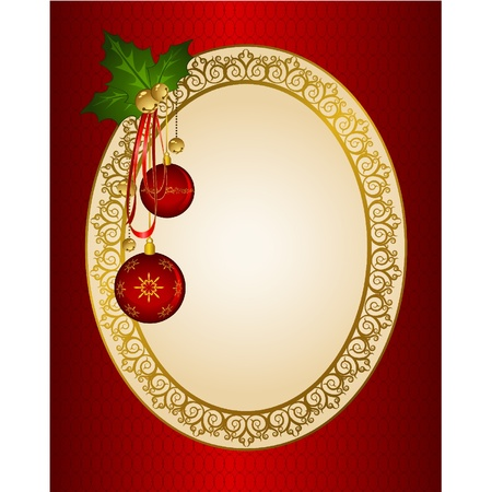 bolls: Christmas background with bolls.