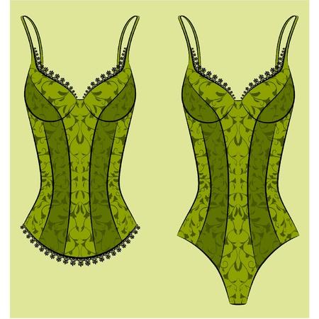lacing: Vintage underlinen