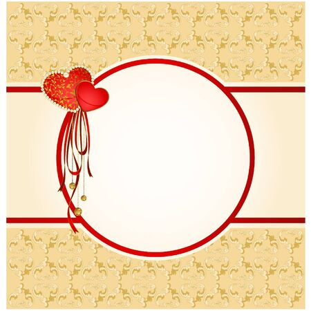 Vintage tapestry background. Vector
