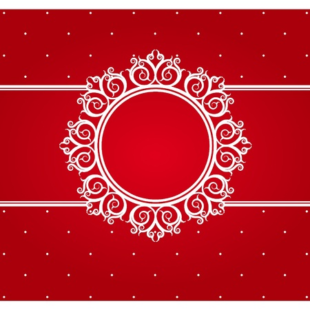 Snowflake winter background. Vector