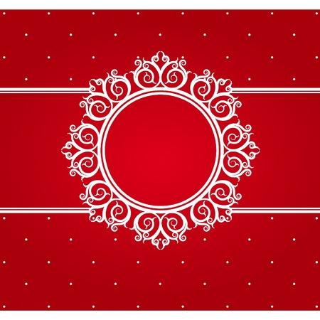 Snowflake Winter Hintergrund.