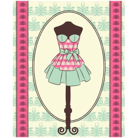 friendship women: Vintage background with lace ornaments