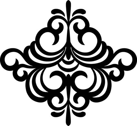 Vintage lace ornaments on background Standard-Bild