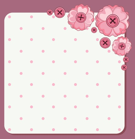 Vintage background with flowers and ornaments Stock Photo - 15077785