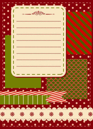 Christmas winter background Stock Photo - 16848617