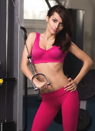 fat burning: fitness woman