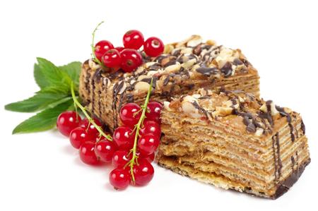 生ベリーとおいしいケーキ