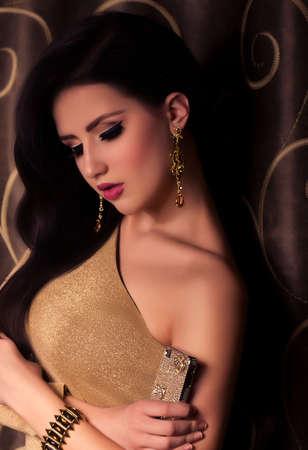 Fashion woman with jewelry precious decorations Stock Photo - 23260050