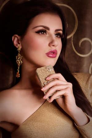 Fashion woman with jewelry precious decorations  Stock Photo - 23260051