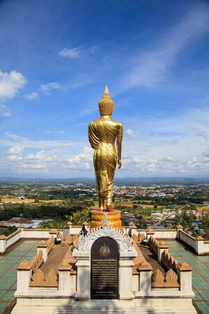 buddha image at  Wat Phra That Kao Noi  Nan Province Thailand Stock Photo - 16492510