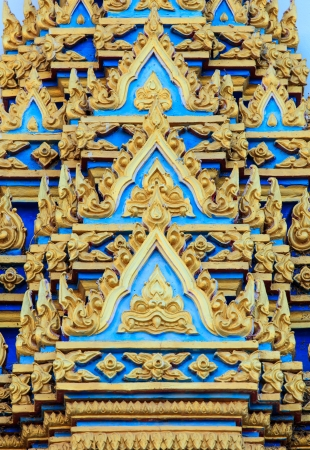 traditional Thai style art   mural on temple Stock Photo - 16977586