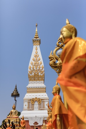 Wat Prathat Panom, Nakornpanom province, northeastern of Thailand