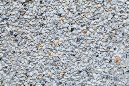 the rock stone wall background with cement Stock Photo
