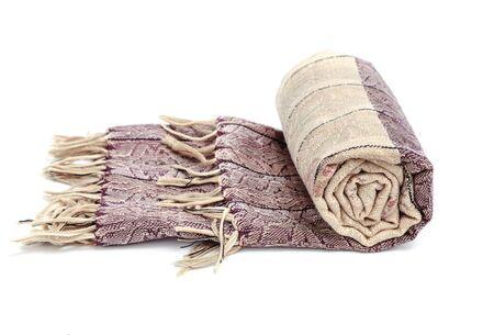 Thai scarf style isolated on white