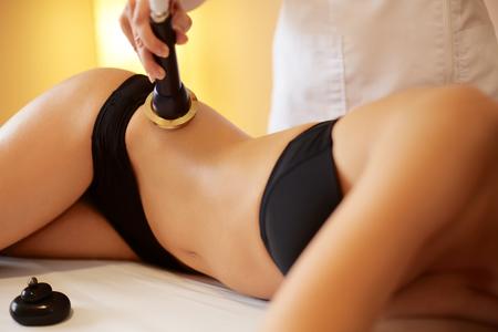 fat and slim: Body Care. Ultrasound Cavitation Body Contouring Treatment. Anti Cellulite