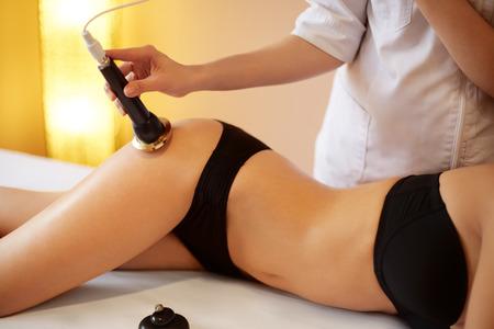 ultrasonic: Body Care. Ultrasound Cavitation Body Contouring Treatment. Anti Cellulite
