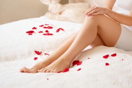 Long Woman Legs Zdjęcie Seryjne